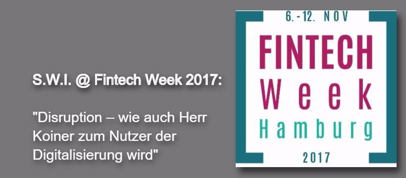 Fintech Week Vortrag